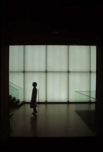 Akihiro Kazama - A Girl in Front of Art