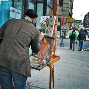 Art Busking