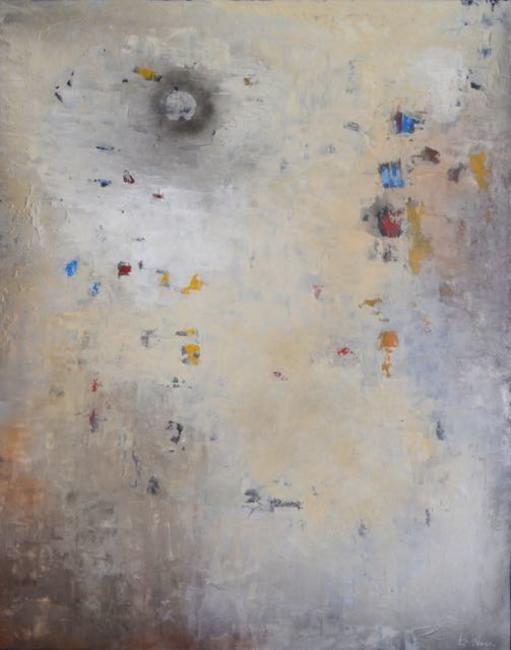Ed Nash - Breaking Through (acrylic on canvas)