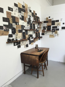 Emily Lucas, The archive of Roland J Worcester, 160x80x200cms