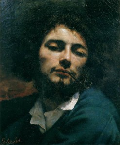 Gustave Courbet - Self-Portrait (Man with Pipe)