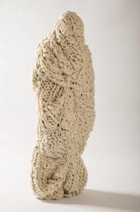 Holly Pickersgill Fennell. June, Perfomance, hand spun merino wool. 5ft6