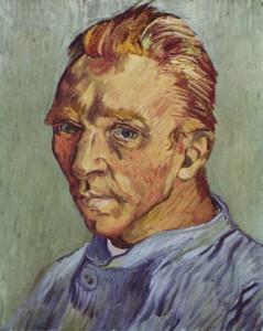 Vincent Van Gogh - Self-Portrait Without Beard