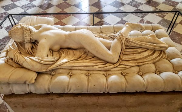 Sleeping Hermaphroditus, sculpture - louvre human body in art
