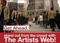 ArtWeb Headstand flyer