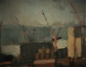 Battersea from Stockwell by Rebecca Hathaway via ArtWeb