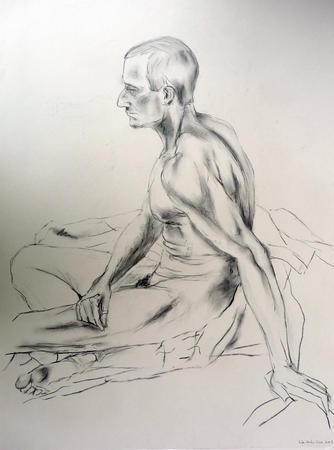 Male Nude by David Duncan via Artweb