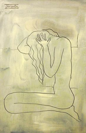 White Nude by Ivona Torovin via Artweb