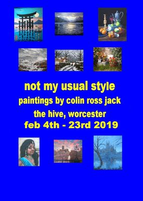 Colin Ross Jack Exhibition