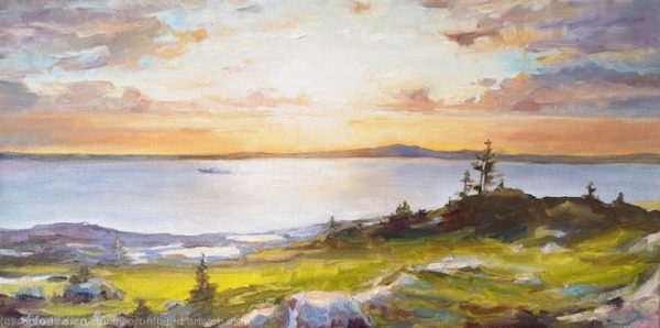 canvas, best surfaces for oil painting