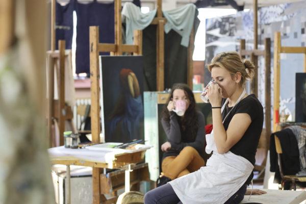shared artist studio