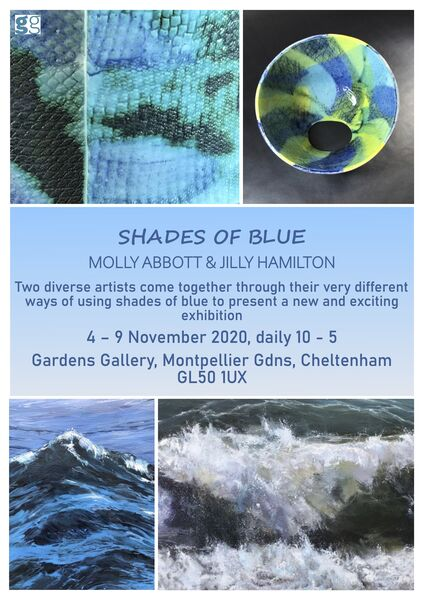 Shades of Blue Exhibition