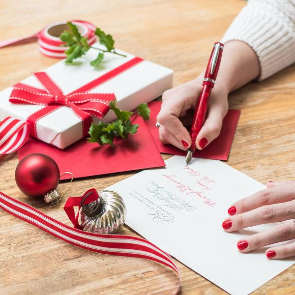 Christmas card art licencing