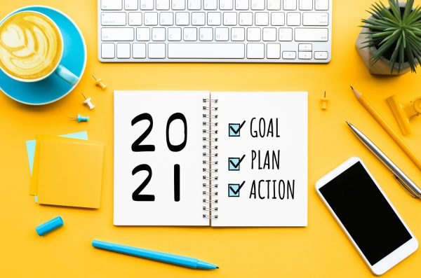 new year goals for artists checklist