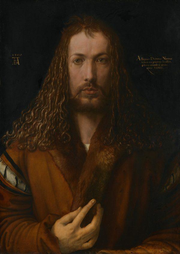 ALBRECHT DUERER Self portrait at 28 CC BY SA BSTGS 537