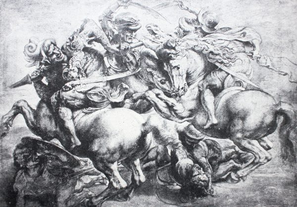 Battle of Anghiari by Rubens - a emulation of one of Da Vinci's lost masterpieces of the same name.